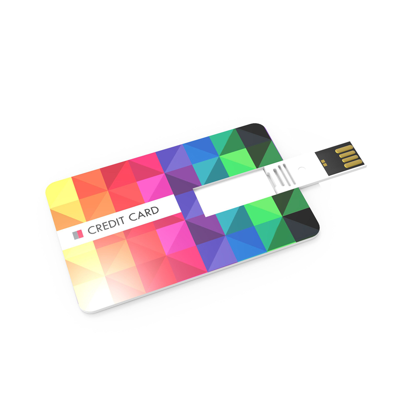 Objet publicitaire - Clé USB publicitaire carte de crédit 3.0