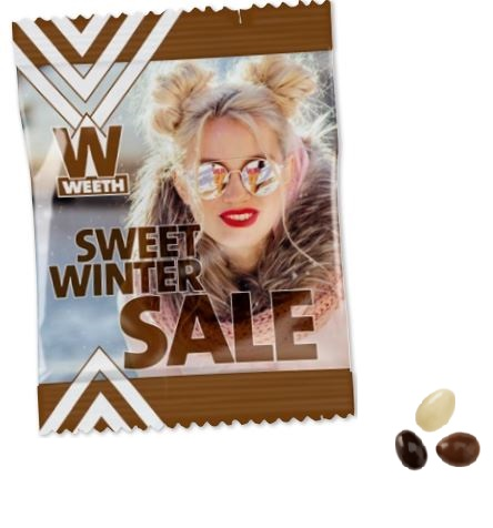 Amandes chocolat - goodies Noel
