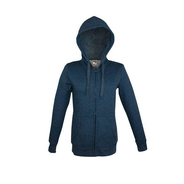 Sweat-shirt publicitaire pour homme Amsterdam bleu