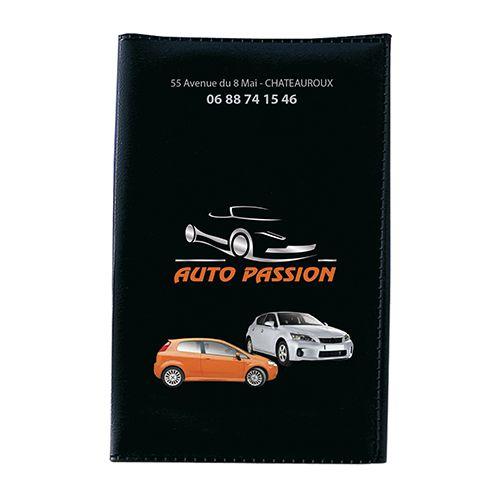 Goodies automobile - Porte-carte grise publicitaire 4 volets
