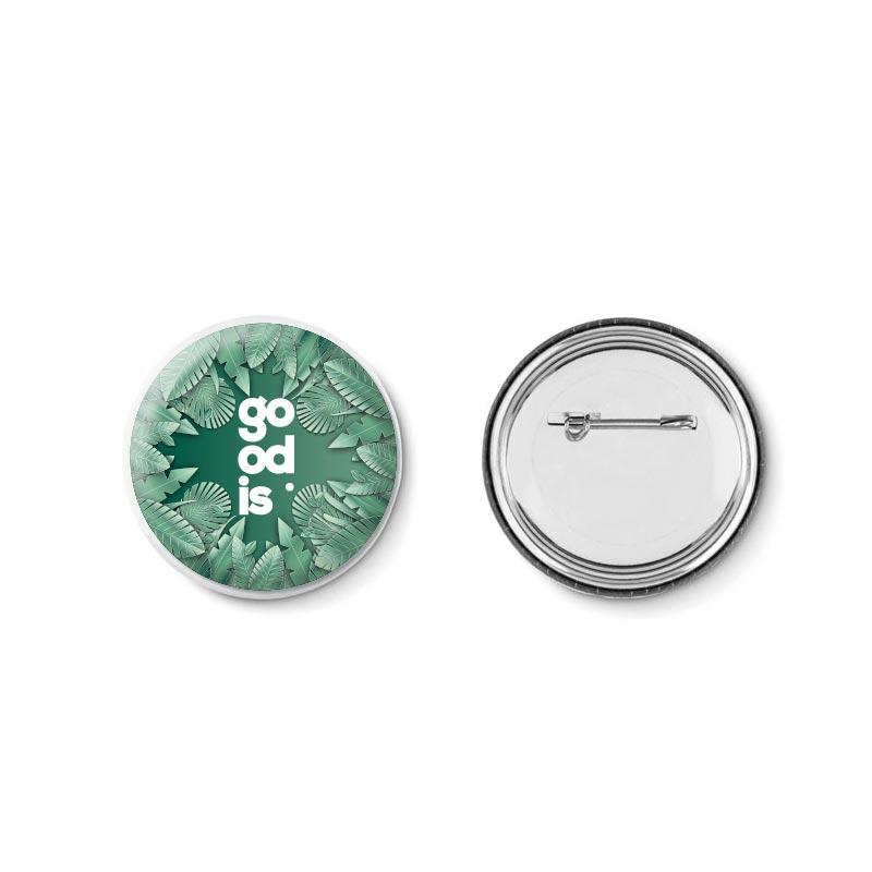 Badge personnalisable Ø 5,8 Pin - Goodies