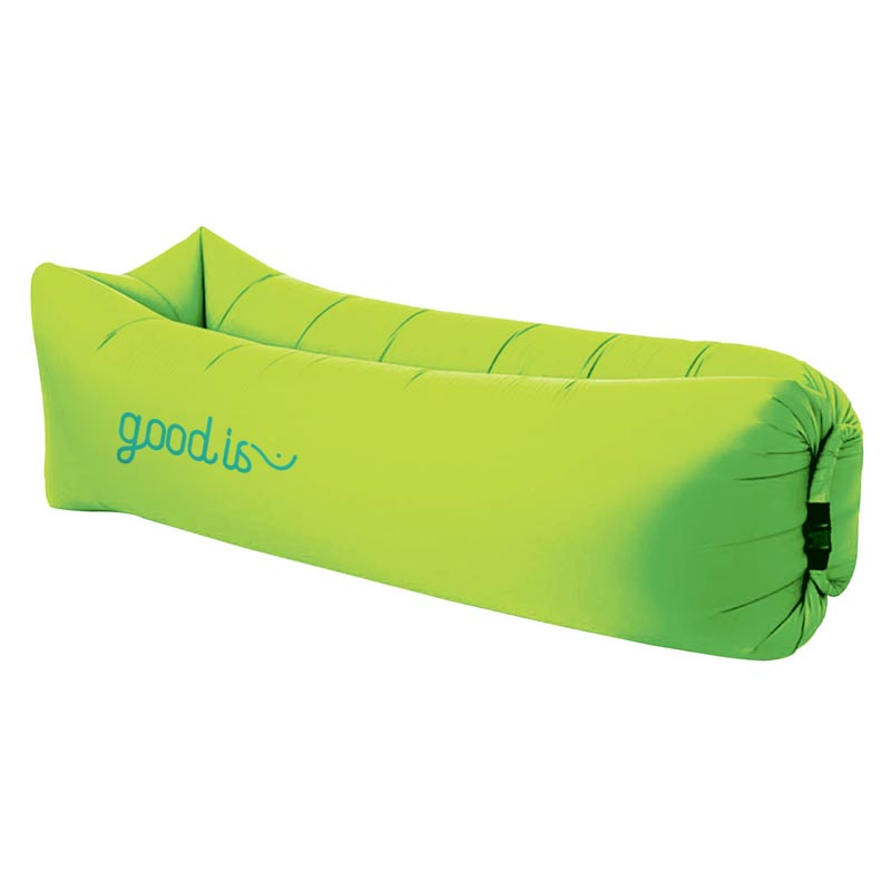 oussin gonflable publicitaire Relax - Coloris vert