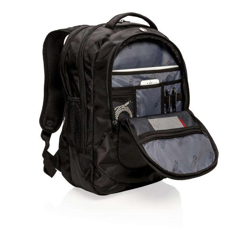 Cadeau publicitaire - Sac à dos outdoor pour ordinateur portable Swiss Peak