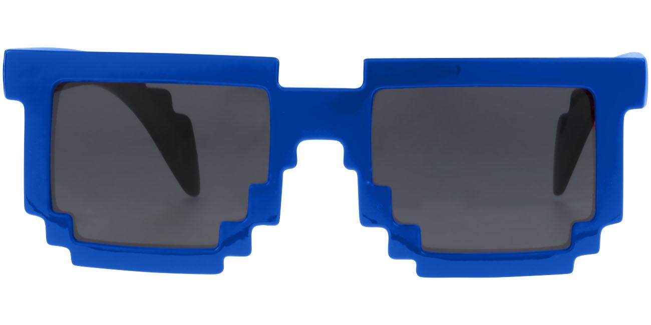Lunettes de soleil publicitaire Pixel - bleu