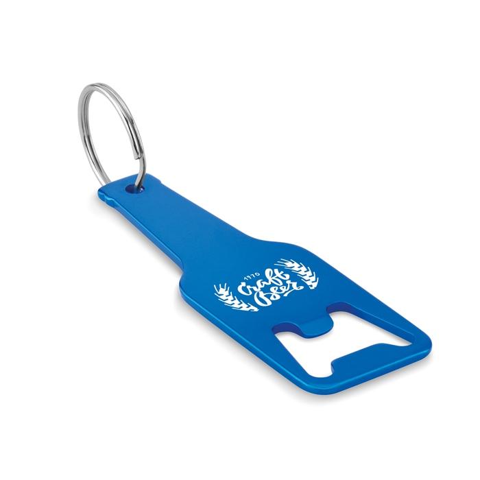 Goodies - Porte-clés decapsuleur publicitaire en alu Botelia