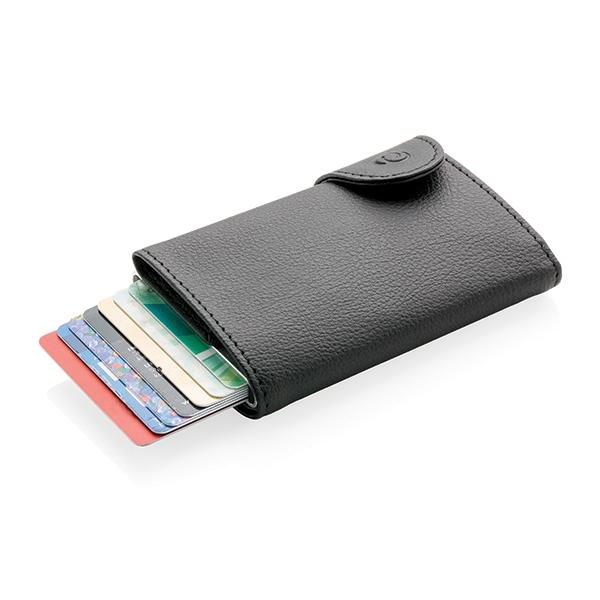 Porte-cartes / Portefeuille publicitaire anti-RFID C-Secure Protek