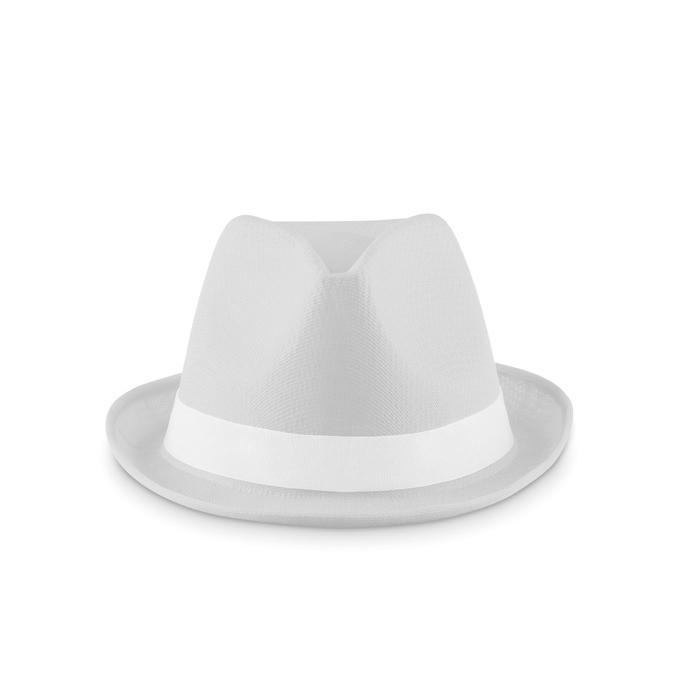 Chapeau personnalisé Woogie - Chapeau publicitaire coloré blau