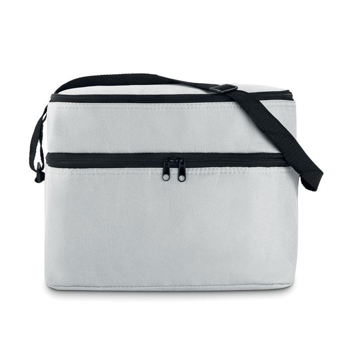 sac isotherme publicitaire Casey orange - cadeau d'entreprise