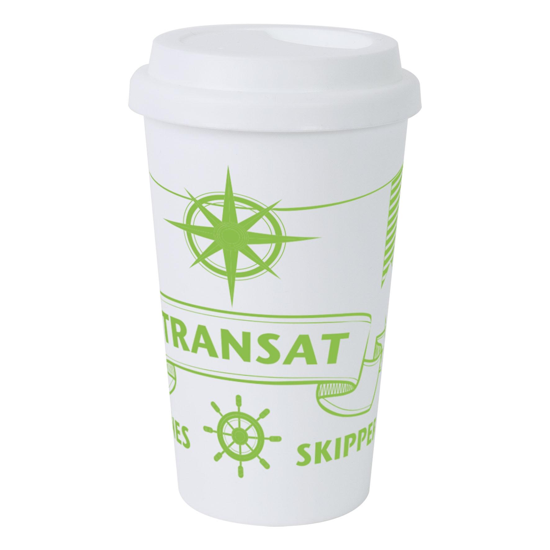 Mug publicitaire isotherme 40 cl Manhattan - objet promotionnel