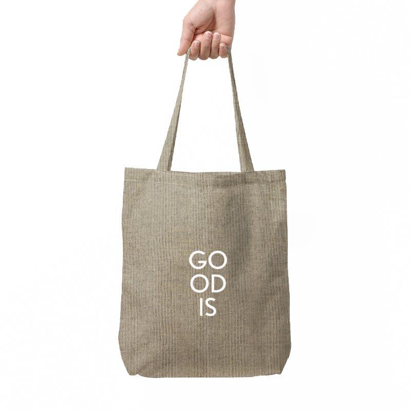 tote bag personnalisable en coton recyclé recyclo