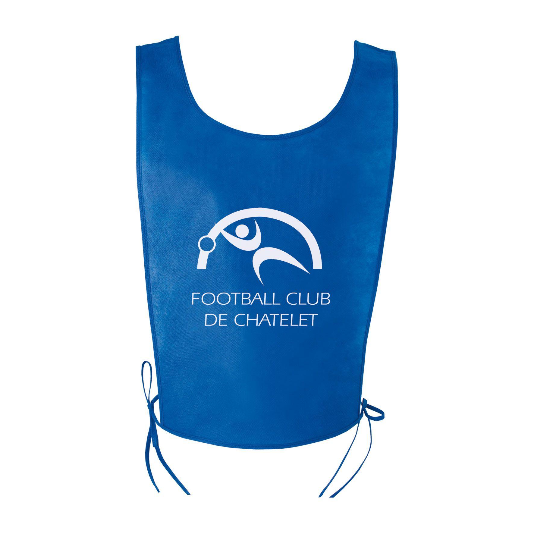 Objet publicitaire sport - Chasuble publicitaire sport Athlé - bleu