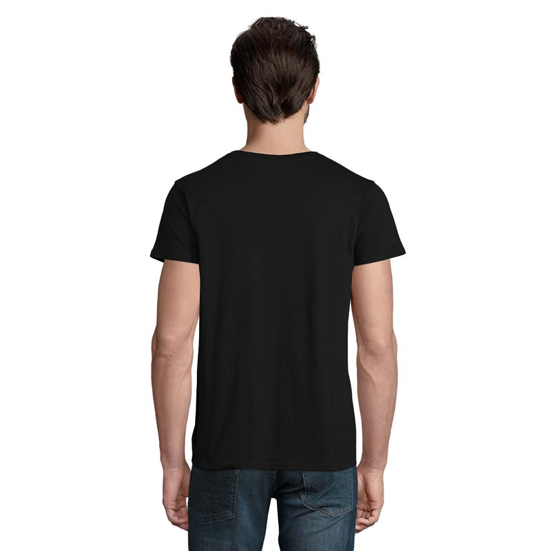 T-shirt vue de dos modèle homme Crusader