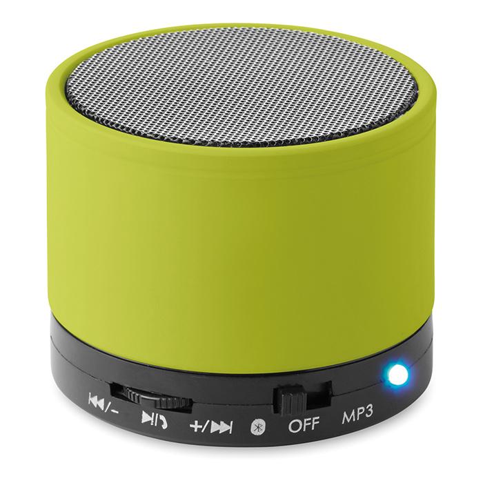 Enceinte publicitaire Bluetooth Roundbass - Cadeau publicitaire high-tech