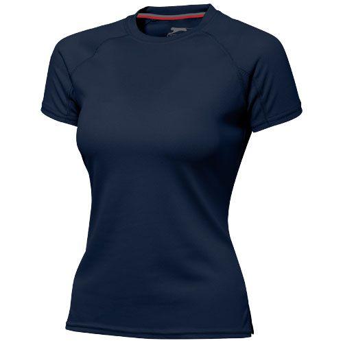 T-shirt personnalisé cool fit manches courtes pour femmes Serve -  bleu