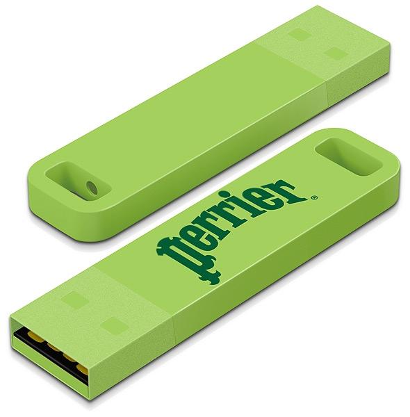 Clé USB publicitaire Iron C - Clé USB personnalisable  - bleu