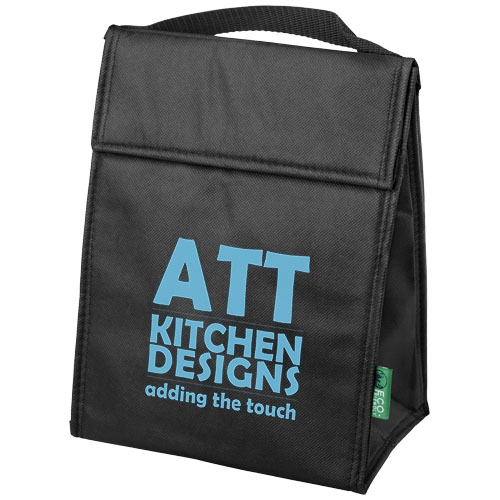 Sac siotherme publicitaire triangle - lunch bag publicitaire rouge