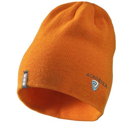 Cadeau d'entreprise hiver - Bonnet personnalisable Level