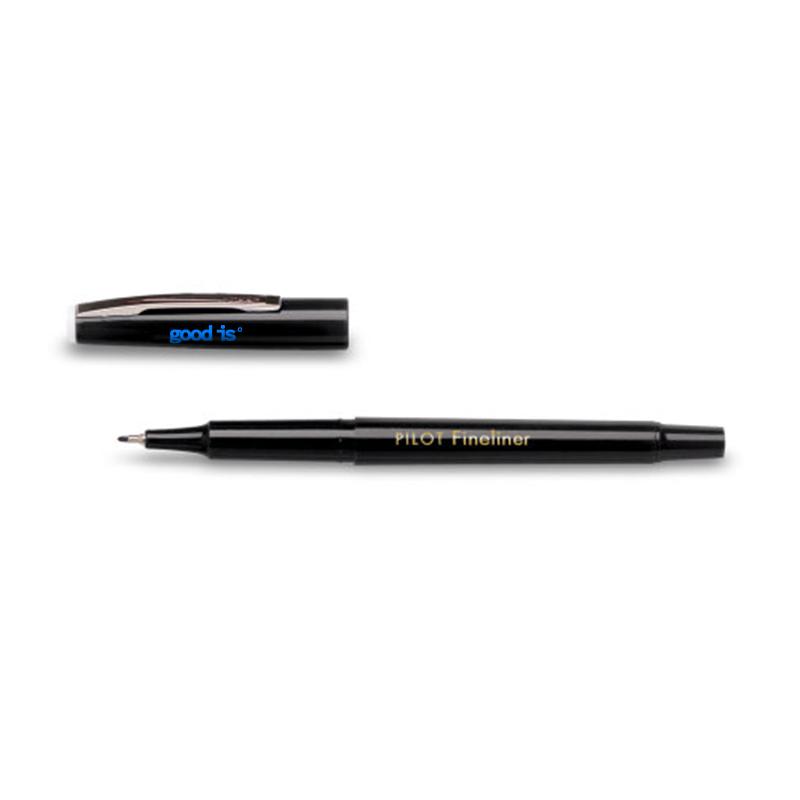 tylo feutre publicitaire Pilot® Fineliner - Coloris noir