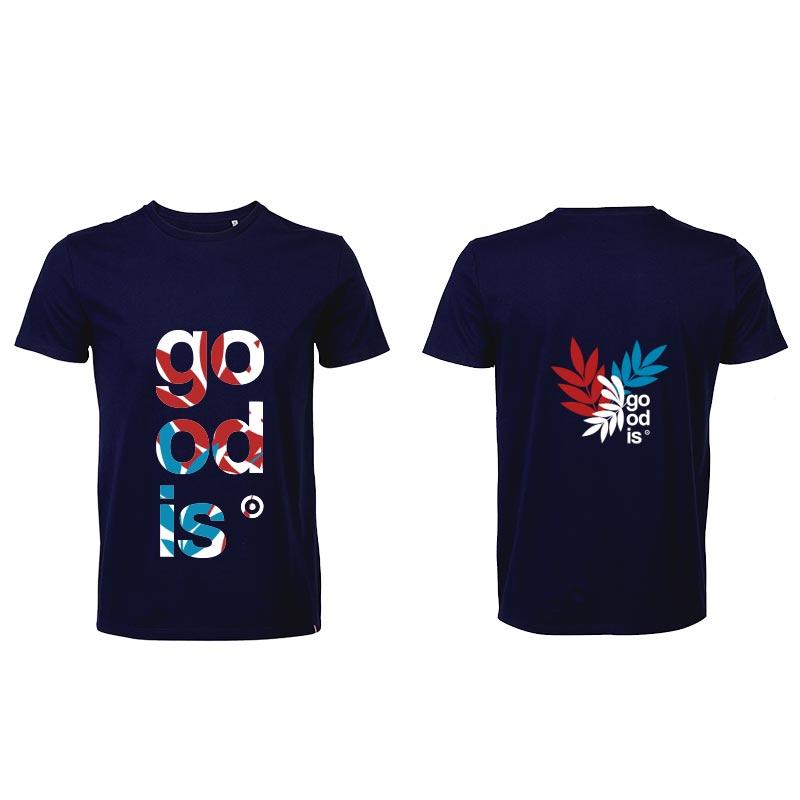 T-shirt publicitaire en coton Léon 150 g - Marquage recto/verso