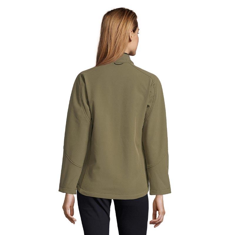 Veste softshell zippée publicitaire Roxy - Porté dos