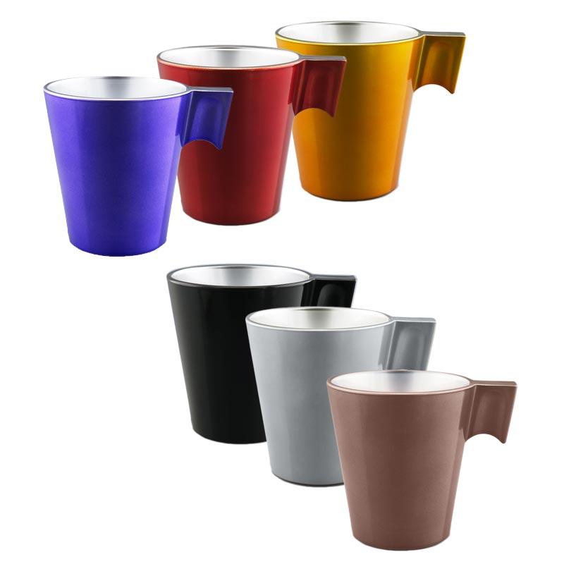 Mug publicitaire en verre Jumbo - Coloris disponibles