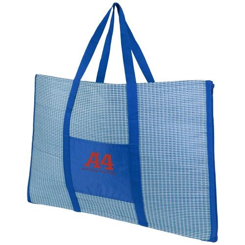 Grand sac de plage publicitaire à personnaliser avec tapis pliable Bonbini