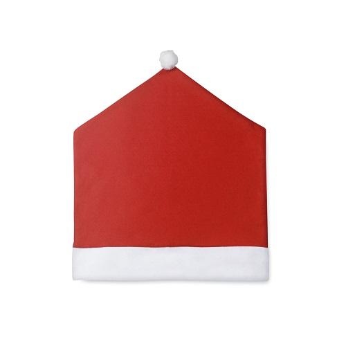 housse de chaise publicitaire Kunax rouge