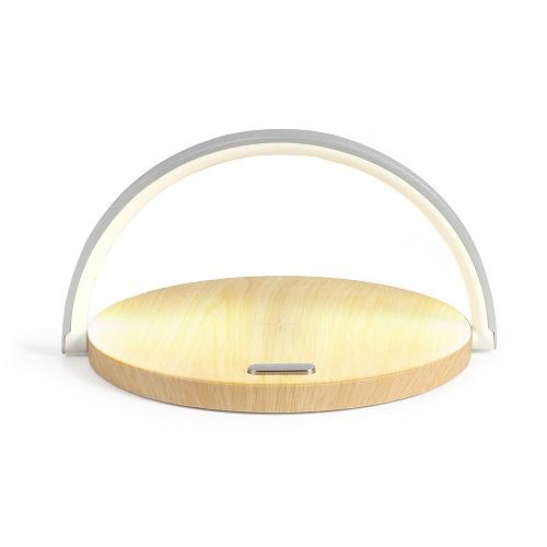 Lampe de chevet publicitaire LED QI