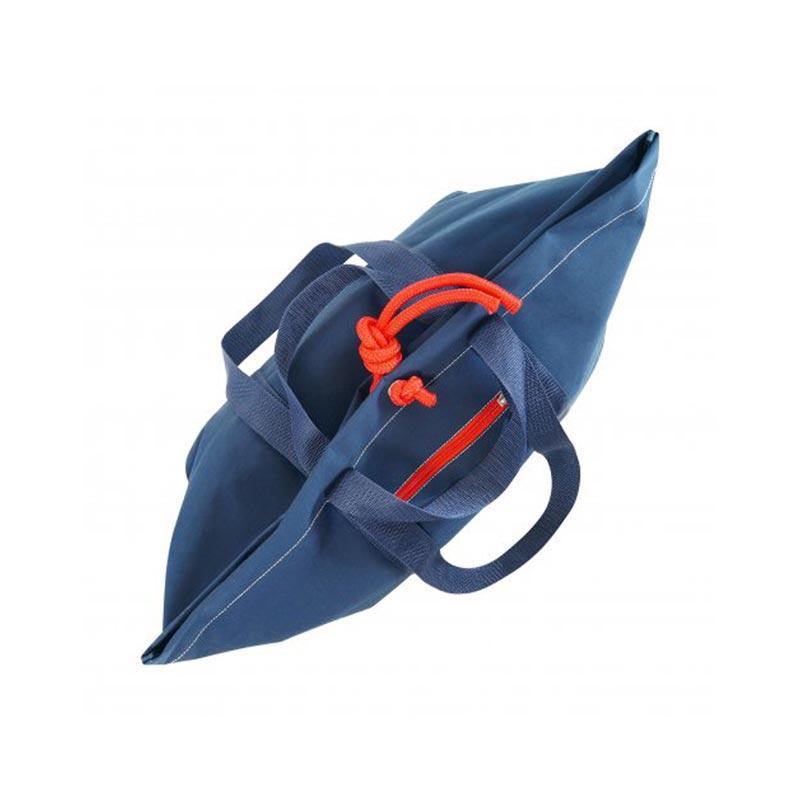 sac de plage publicitaire écologique citizen blue dessus
