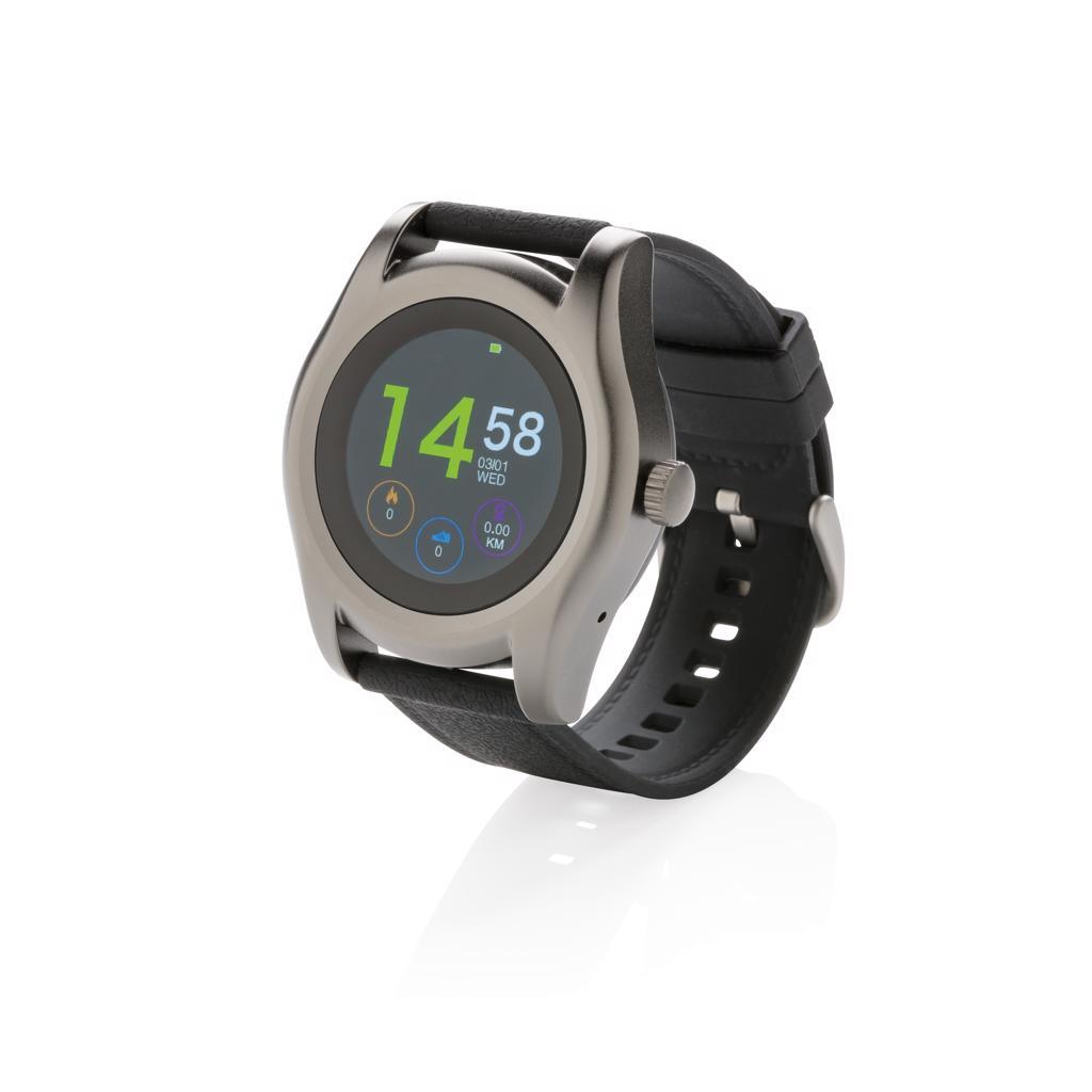 Montre connectée publicitaire - Smart watch publicitaire Swiss Peak