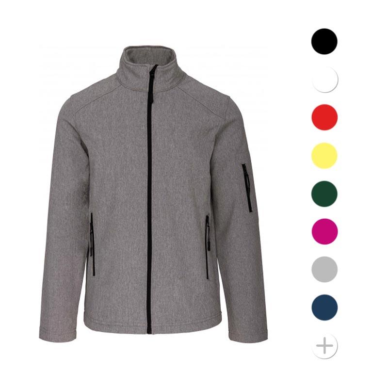 veste softshell publicitaire scott - textile promotionnel