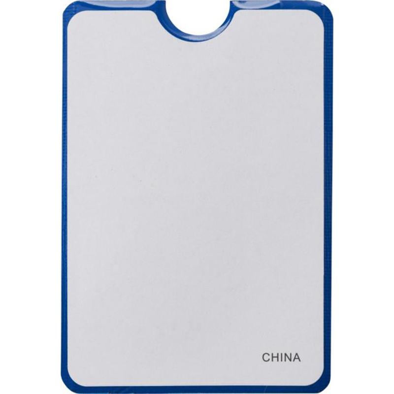 Goodies - Porte-carte publicitaire RFID pour smartphone Ulsan - blanc
