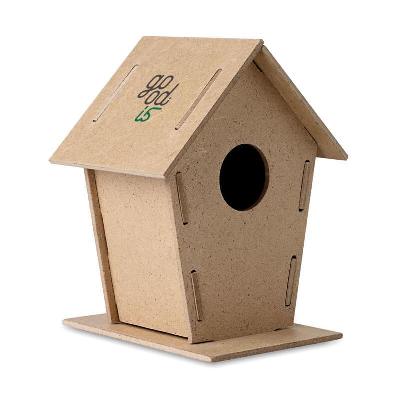 Cadeau d'entreprise écologique - Nichoir à oiseaux Woohouse