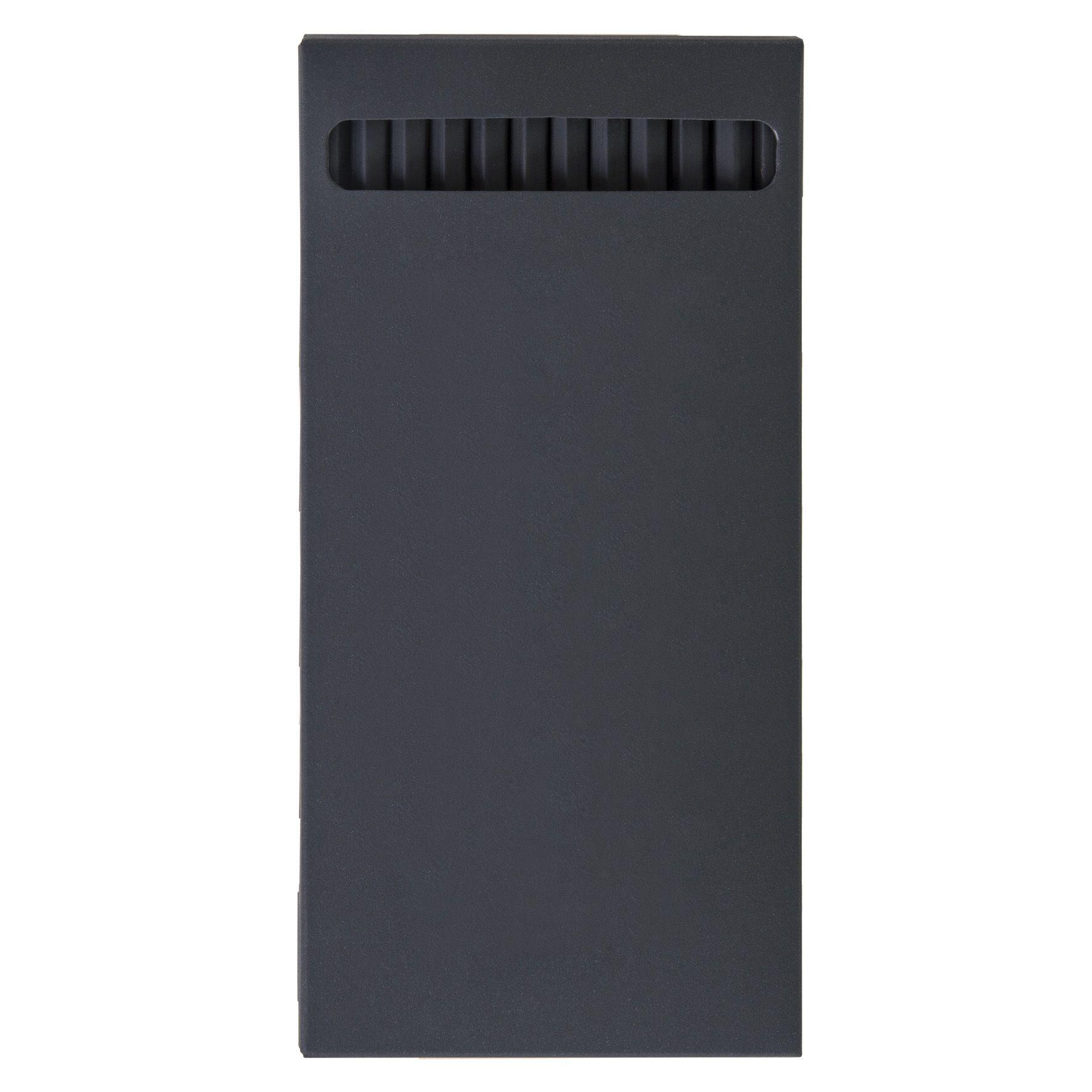 crayons publicitaires écologique black hexa - cadeau  entreprise écolo