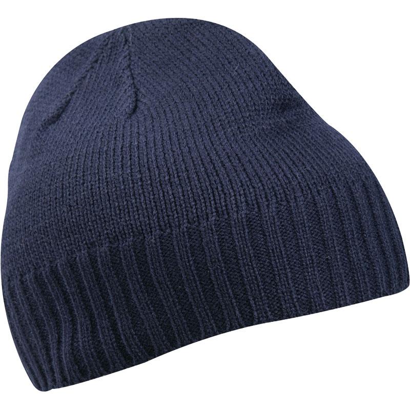 Bonnet personnalisable Cousteau bleu - bonnet publicitaire