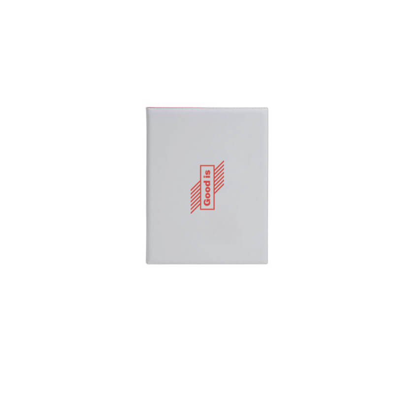 Goodies salons - Conférencier A5 100% personnalisable