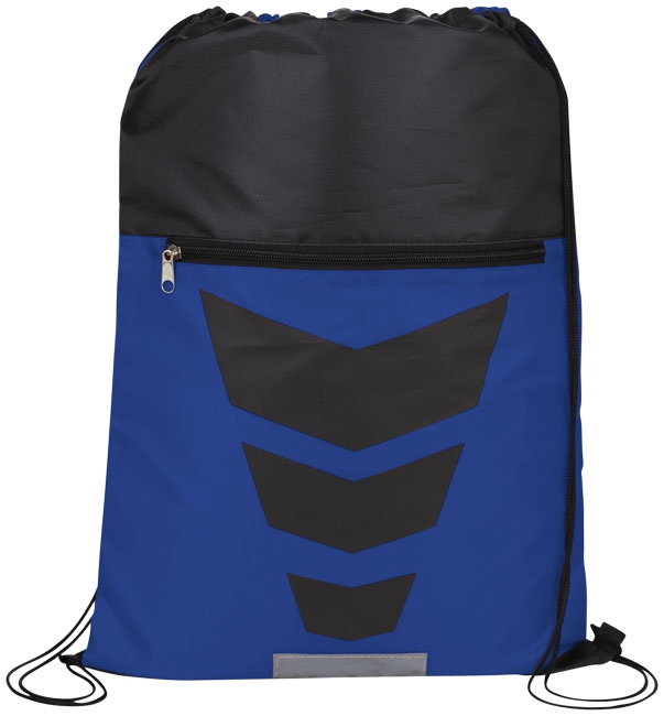 Gym bag publicitaire Courtside - bleu royal