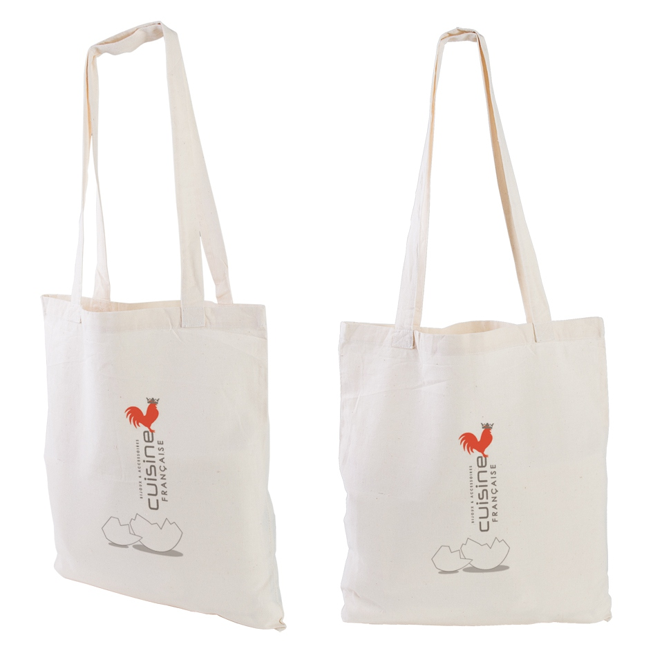 Sac shopping publicitaire écologique Gossy - sac shopping personnalisable