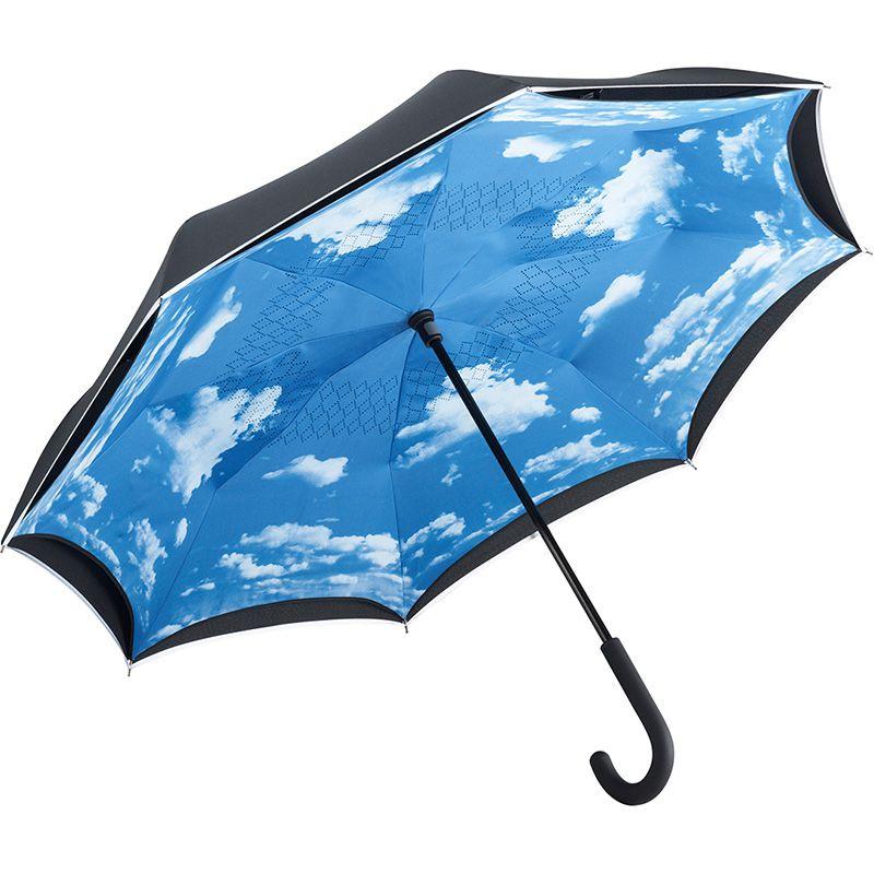 Parapluie personnalisé inversé Cloud - Cadeau promotionnel