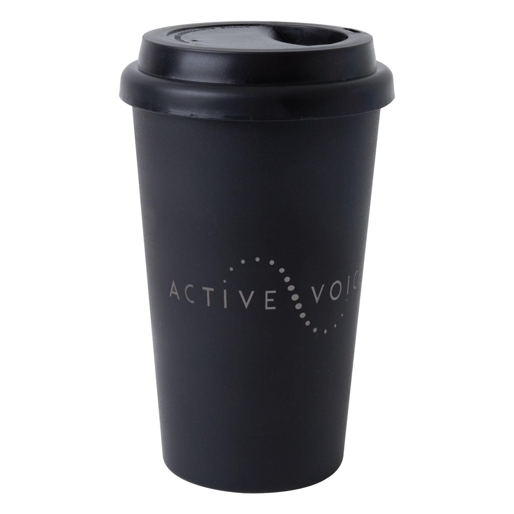 Mug publicitaire isotherme 40 cl Manhattan - Mug personnalisable - rouge