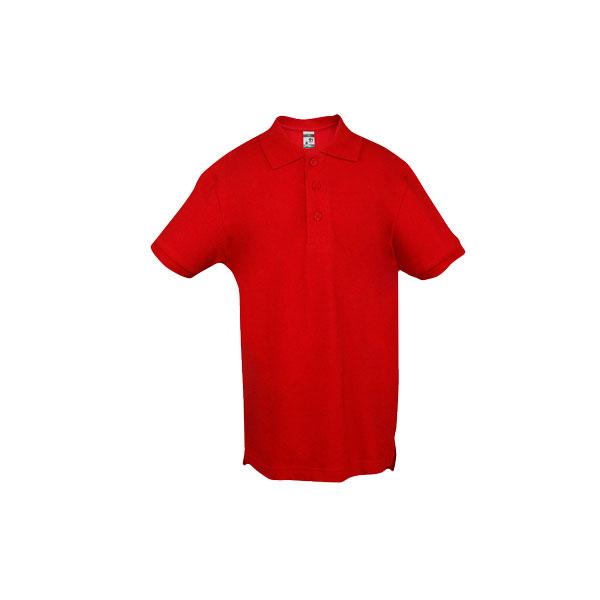 Textile personnalisé - Polo publicitaire enfant unisexe Adam Color - noir