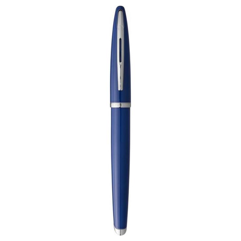 Cadeau d'affaires - Stylo roller personnalisable Carène bleu Waterman