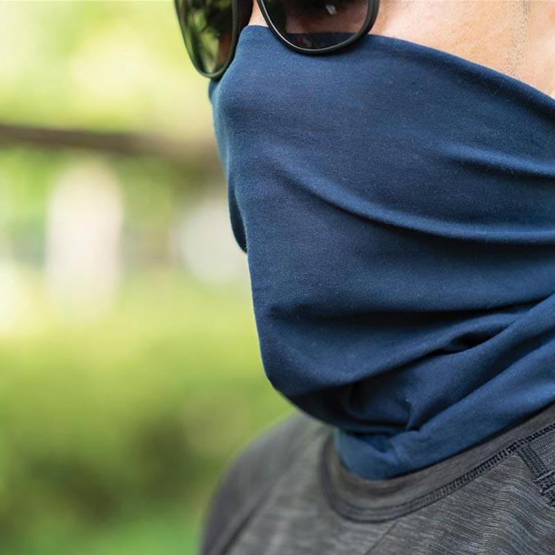 écharpe multifonctionnelle pour masque visage