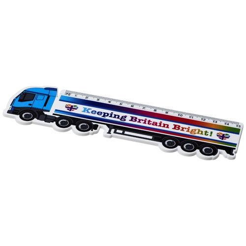 Goodies - Règle en plastique personnalisable Loki 15 cm Camion