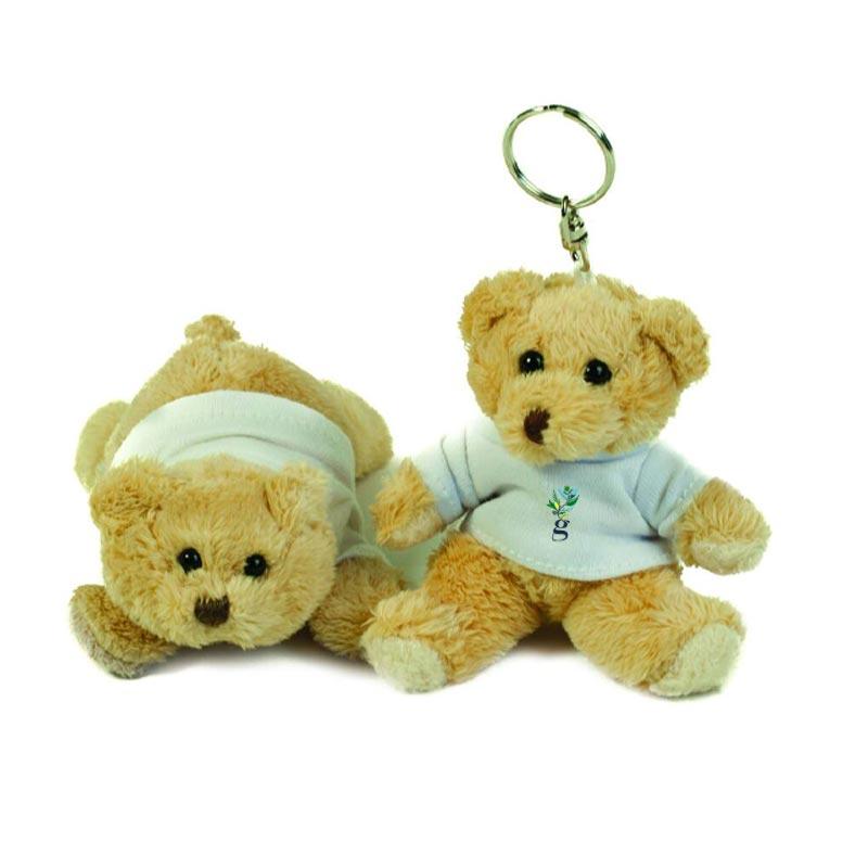 Porte-clés publicitaire Mumbles® Binx Teddy - cadeau publicitaire
