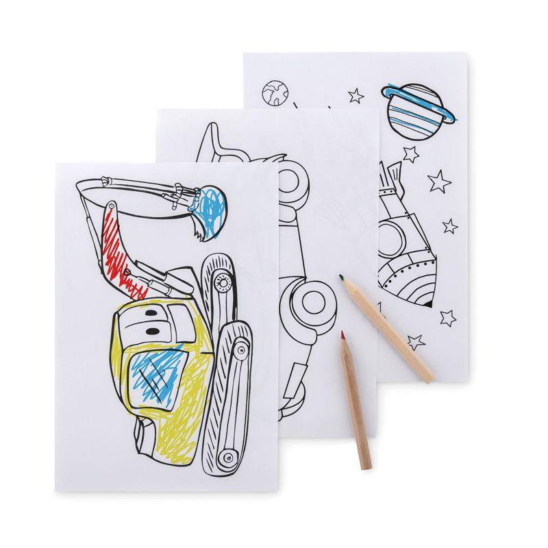 Goodies écologique - Set de coloriage FOLDER2 GO