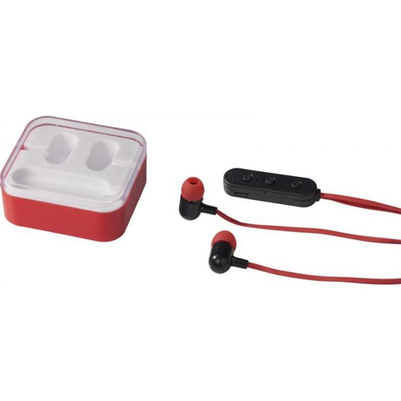 Ecouteurs Bluetooth® publicitaires Color Pop  blanc