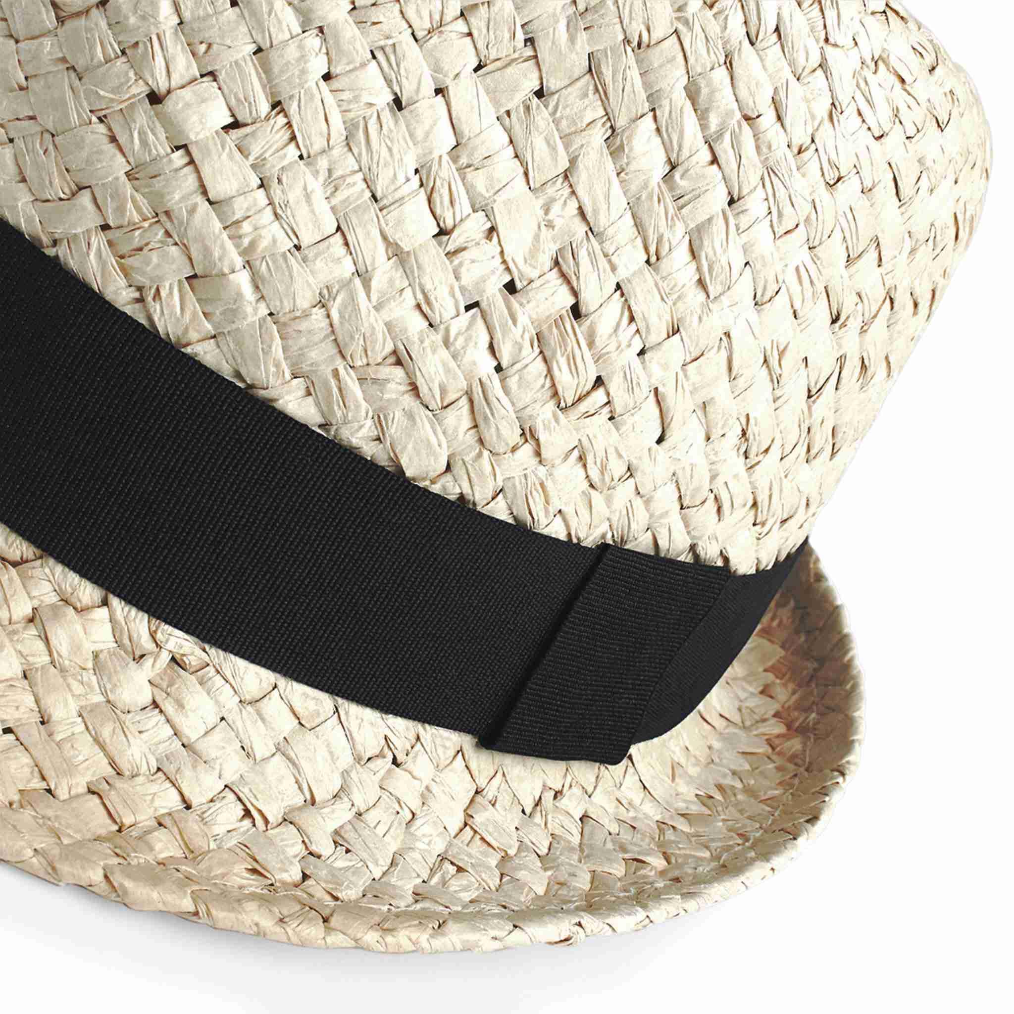 Chapeau personnalisable écologique Trilby - chapeau promotionnel