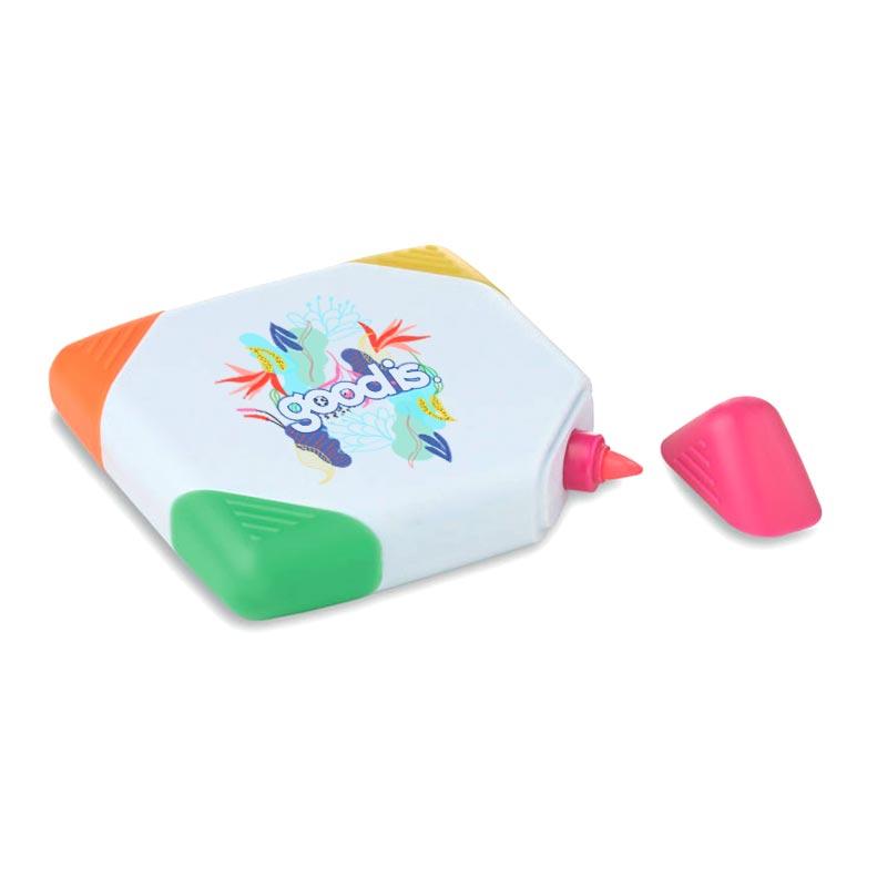 Surligneur personnalisé 4 couleurs Squarie