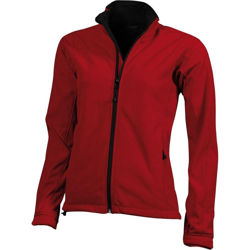 Veste publicitaire pour femme Icart orange - veste promotionnelle